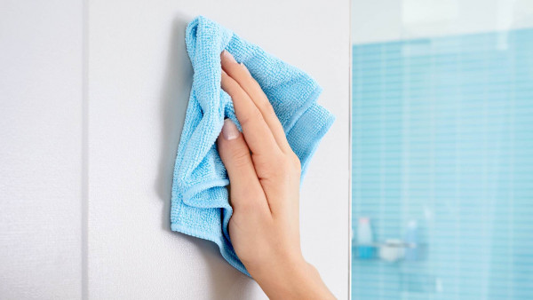 KLAAM eckiger Seifenkorb für das Waschbecken