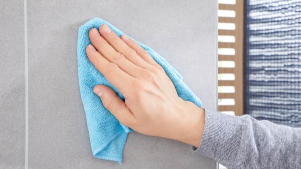 NOOBLESSE Handtuchstange mit zwei Armen aus Edelstahl