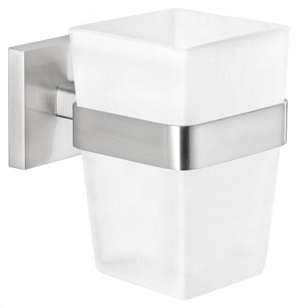 EXXCLUSIV Zahnbürstenhalter, edles Design, inkl. Klebelösung