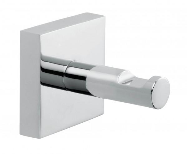 EKKRO eckiger Garderobenhalter aus Chrom