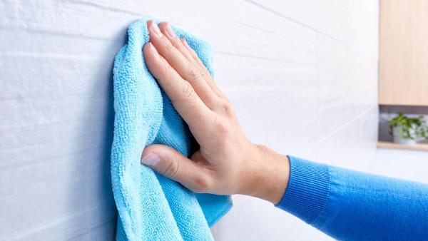 ekkro eckiger Handtuchhalter aus Chrom