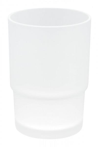 ekkro Zahnputzbecher Glasersatz für runde Becher