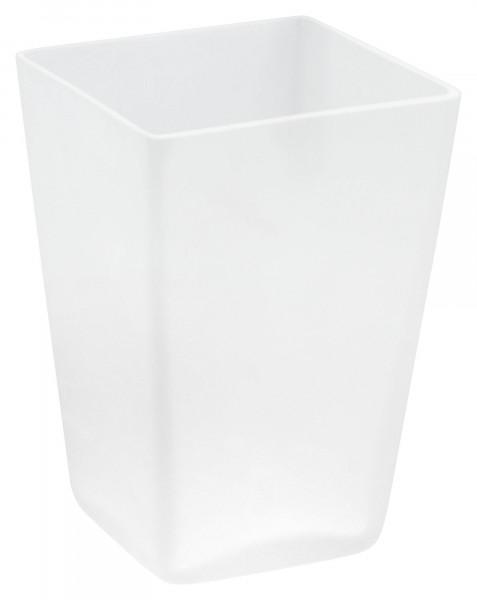DELUXXE Ersatzbecher für Zahnputzbecherhalter aus Glas