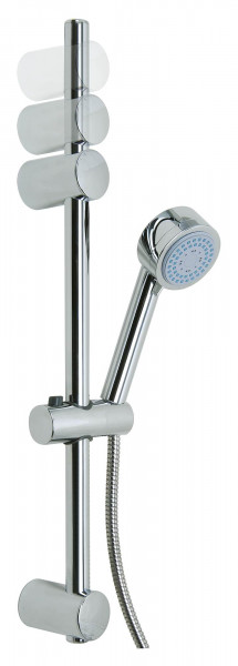 SPAA komplettes Duschset aus Chrom, 3-fach verstellbar