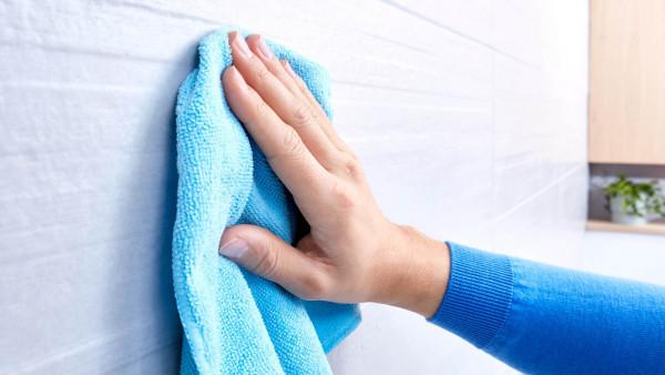 ekkro Handtuchring aus Chrom für Bad und WC