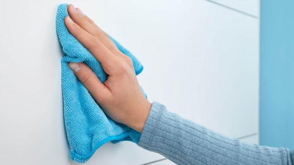 MOON Handtuchring aus Edelstahl