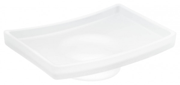 klaam satiniertes Ersatzglas für eckige Seifenschale