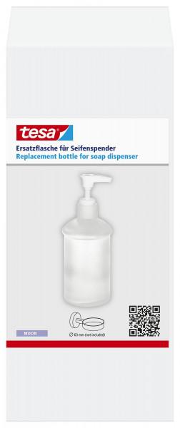 MOON Seifenspender Ersatzflasche aus satiniertem Glas