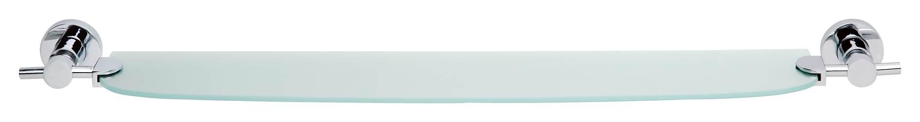 Glasablage bad aus satiniertem glas ohne bohren for Glasablage bad ohne bohren