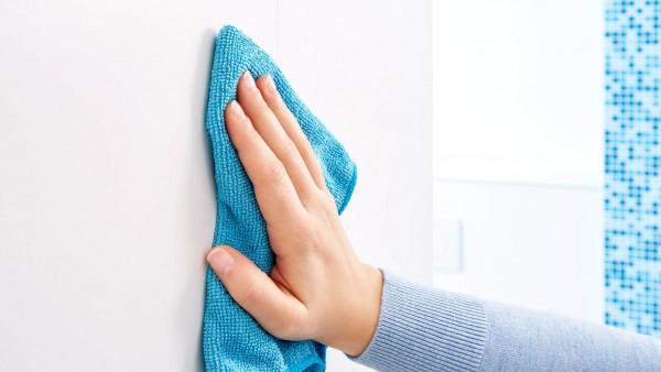 LUUP Handtuchstange zur Wandmontage im Badezimmer