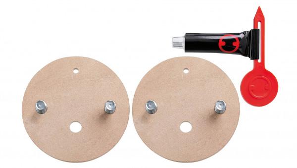Adapter Kit BK164-2, Doppel-Ersatzadapter, Außengewinde