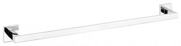 DELUXXE Handtuchstange, Metall, verchromt, inkl. Klebelösung