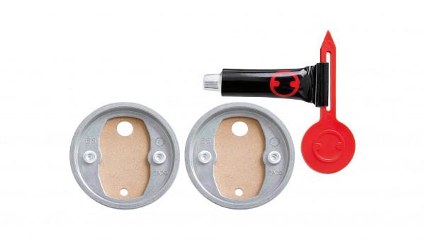 BK20-2 doppel-Klebebefestigungs-Set mit Zamakring