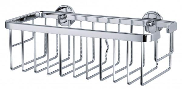 ALUXX extratiefer Duschkorb aus Aluminium